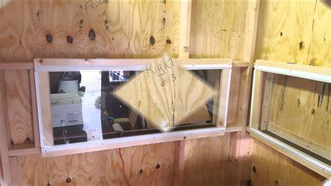 homemade deer blind windows homemade ftempo