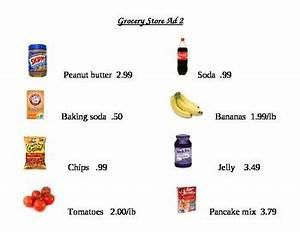 Grocery List Price Calculator Grocery Store Ad Math Worksheets 2 By Smartjules Tpt