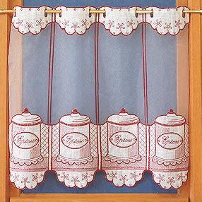 rideau de cuisine au metre rideaux de cuisine brise bise en voilage brodé