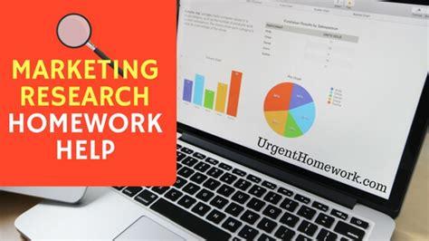 marketing help marketing research homework help marketing research
