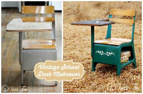 vintage school desk makeover vintage school desk makeover knick of time