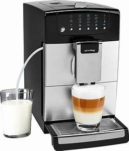 Kaffeevollautomat Mit Wasseranschluss : privileg kaffeevollautomat kegelmahlwerk 1 4l tank ~ Michelbontemps.com Haus und Dekorationen