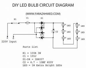 Diy Home Made 6w Led Bulb