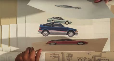 """Honda """"paper"""" Commercial Is A Moving Timeline"""