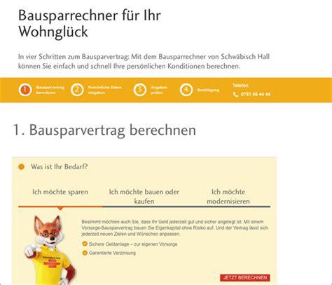 bausparrechner aktion pro eigenheim
