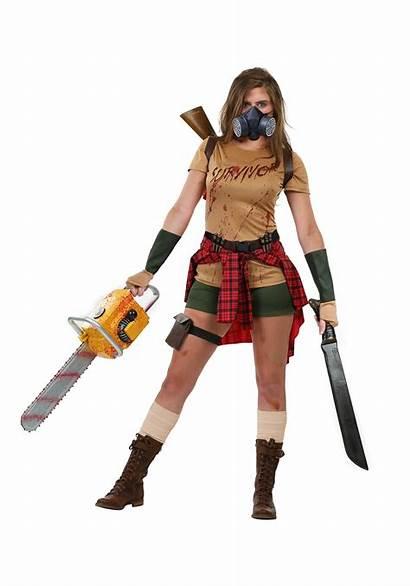 Zombie Survivor Costume Costumes Female Halloweencostumes Womens