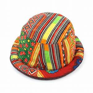 Thai Hill Tribe Hat Rolled Trilby Hand Made Fair Trade ...
