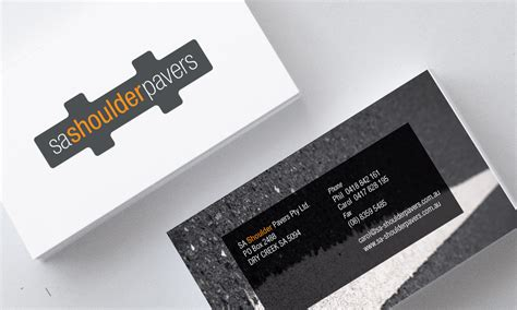 Sa Shoulder Pavers Sample Beauty Business Cards Plain Blank Templates Free Makeup Text Box Shipping Boxes White Nail