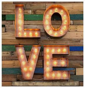 18 marquee love signcustom steel love sign light up With 18 marquee letters