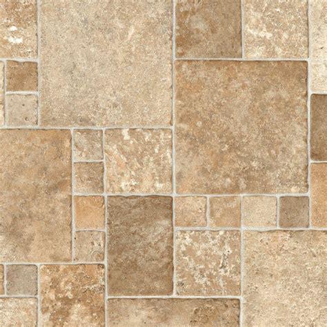 trafficmaster  home sample sandstone mosaic vinyl