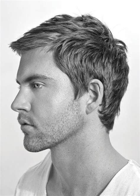 hairstyles for young men mens short hairstyles