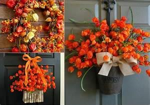 Lampionblume Physalis Von Herbstdeko Nicht Wegzudenken