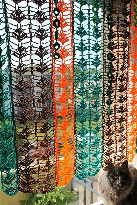 Free Drapery Patterns by Colorful Curtain By Ioana Deurzen Free Crochet
