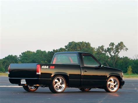 454 Ss Truck Wallpaper by 0807tr 02 Z 1990 Chevy 454 Ss Right Rear View Jpg 640 215 480