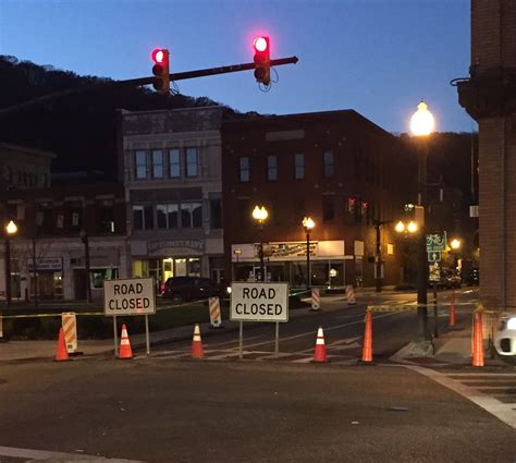 Update Oil City Streets Close After Bricks Fall From