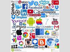 Logotypes Of Popular Computing Brands Editorial Photo