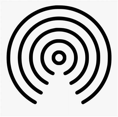 Signal Radio Waves Wave Clipart Audio Transparent