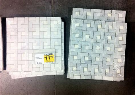 lowes mosaic tile renovation weekend centsational