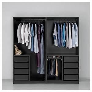 Ikea Pax Planer Geht Nicht : pax wardrobe black brown auli ilseng 200 x 66 x 201 cm ikea ~ Yasmunasinghe.com Haus und Dekorationen