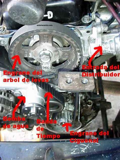 hyundai excel banda de tiempo timing belt motor