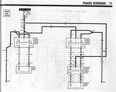 Power Window Wiring Mustang Forums Stangnet