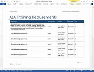 software testing templates 50 word 27 excel With software test policy template