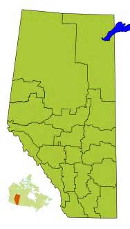 Alberta Census Division Map