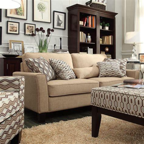 Linen Sofa by Homesullivan Grove Linen Sofa 40e503s Lbl Sofa The