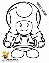 Mario Coloring Pages Super Toad Bros Mushroom Colouring Paper Nintendo Drawing Yescoloring Para Printable Party Character Galaxy Bowser Brothers Colorear sketch template