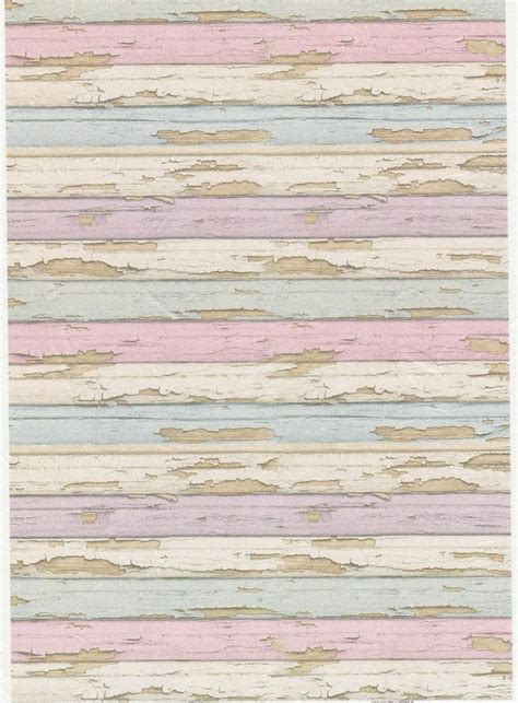 Shabby Chic Holz by Rice Paper For Decoupage Decopatch Scrapbook Craft Sheet