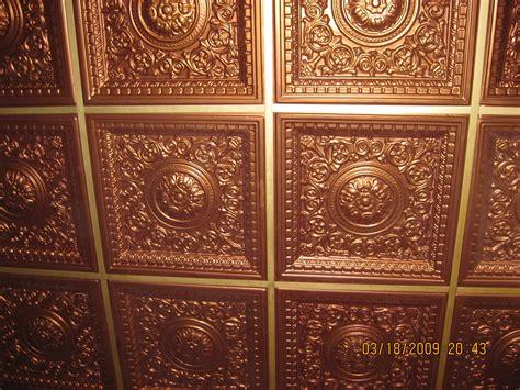 Copper Ceiling Tile Tile Design Ideas