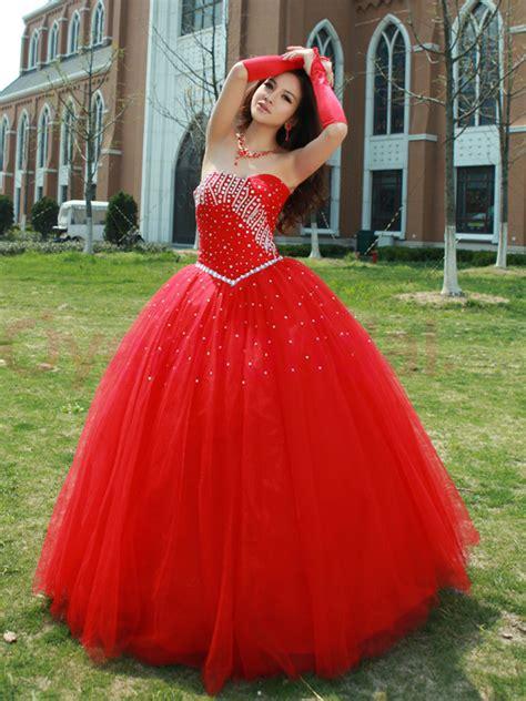 red quinceanera dresses picture collection dressedupgirlcom