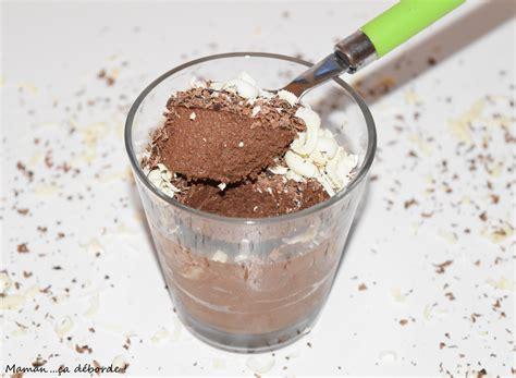 cuisine mousse au chocolat mousse au chocolat sans oeuf blogs de cuisine