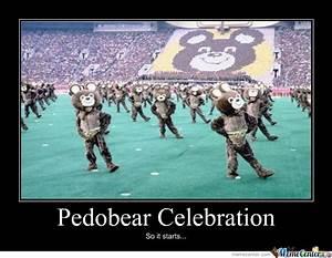 Pedobear Celebration by lolnek - Meme Center