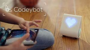 Codeybot New Robot Who Teaches Coding By Makeblock