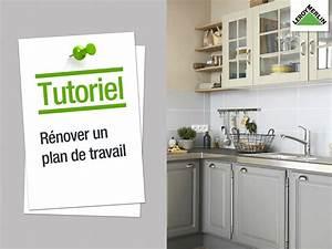 Recouvrir Plan De Travail Cuisine Adhesif : plan de travail et cr dence cuisine leroy merlin ~ Dailycaller-alerts.com Idées de Décoration