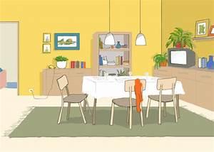 Amenager Salon Salle A Manger En L : j 39 am nage mon salon ma salle manger ~ Dode.kayakingforconservation.com Idées de Décoration