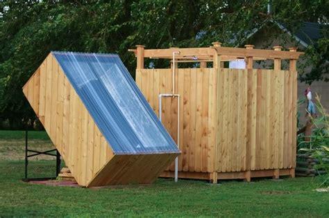 Diy Solar Outdoor Shower  The Ownerbuilder Network