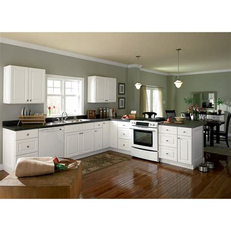 home depot hton bay kitchen cabinets hton assembled 36x34 5x24 in farmhouse apron front