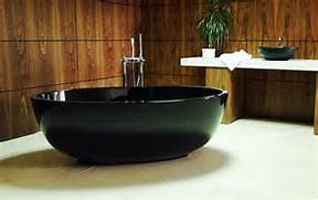 Freestanding Stone Bathtubs by New Compact Black Freestanding Bathtub The Petit By Castello DigsDigs