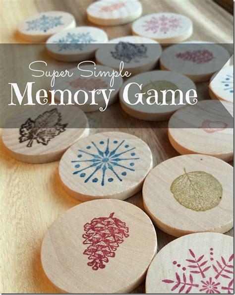 diy memory game gift  child fun