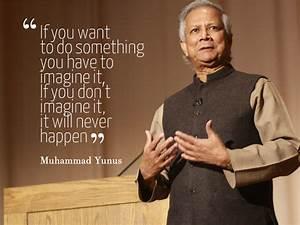 Muhammad Yunus - The Banker to the Poor Enterpreneur | The ...