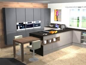 kche mit integriertem essplatz moderne kochinsel und esstisch mit barhockern kuche mit kochinsel und tisch digrit for kche mit