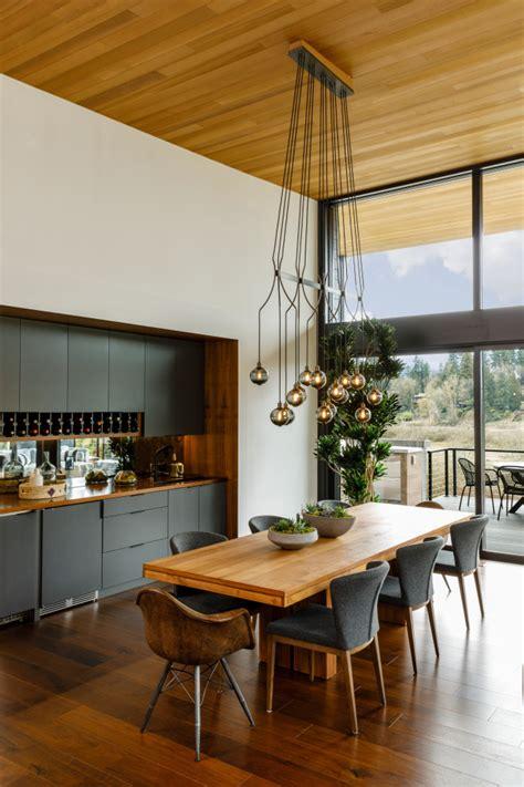 spectacular mid century modern dining room designs