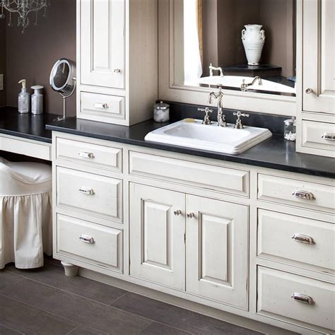 bathroom cabinets and countertops considerations for selecting bathroom countertop storage