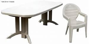 Salon De Jardin Beige : salon de jardin vega sable 1 table 220x100 6 fauteuils acadia beige oogarden france ~ Teatrodelosmanantiales.com Idées de Décoration