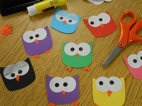 owl preschool craft hoot hoot owl paper craft zen amp the of teen services 429