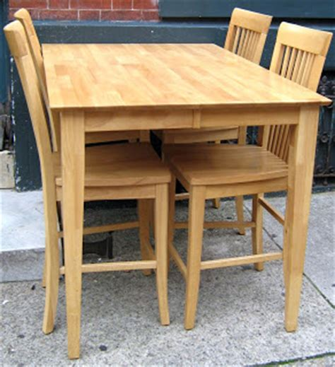 Bar Height Tables And Chairs by Uhuru Furniture Amp Collectibles Gorgeous Light Wood Bar