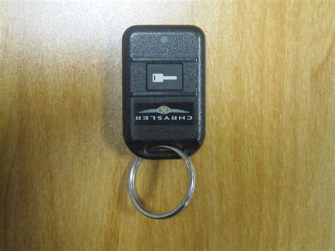 Programing A New Or Used Chrysler Remote Car Starter Fob
