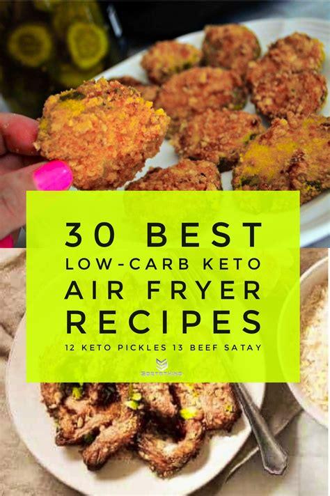 air fryer recipes carb low keto sortathing fried pickles beef healthy turkey